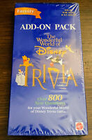 Wonderful World of Disney Trivia Game Family Add-On Pack 800 New Questions