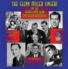 GLENN MILLER SINGERS - ON THE PERRY COMO SHOW AND OTHER BROADCASTS NEW CD