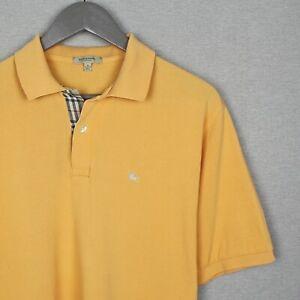Burberry London Polo T-Shirt Size L XL