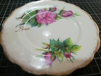Vintage Roslyn Fine Bone China England, Series of 6, Wheatcroft Roses, Prelude 5