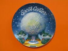 "DISNEY EPCOT CENTER Colorful Vtg 1982 Decorative Mini 6.5"" Collector Plate MINT"