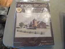 Paragon Stitchery Homestead  # 0829 Unopened House Barn Silo