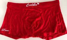 mens sexy boxer briefs bamboo fiber soft comfortable red size XXXL