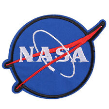 Fashion New America NASA LOGO Embroidered Iron/Sew ON Patch Badge 3.1""