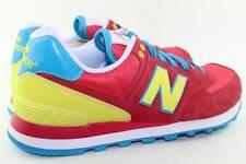 New Balance WL574BFW Size 8.0 Pink Yellow, Blue, white, Red NEW RARE Running