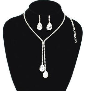 Fashion Crystal Necklace Bib Choker Chain Chunk Statement Pendant Women Jewelry