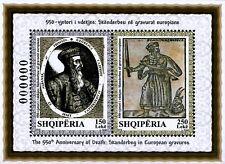 Albania Stamps 2018. 550-th Anniv. of Death: Skanderbeg. Souvenir sheet. MNH