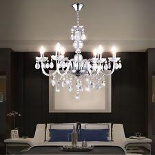 Kronleuchter Decken Pendel Hänge Leuchte Luster Beleuchtung Schlafzimmer Chrom