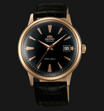 Orient Bambino FAC00001B automatic men's watch - leather strap