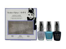 Opi Breakfast at Tiffany's Infinite Shine 3pc Set Nail Color Polish Top Base New