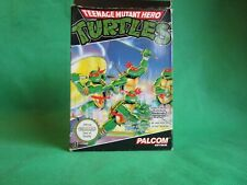 Nintendo NES Spiel ** Teenage Mutant Hero Turtles ** kpl m. OVP und Manual
