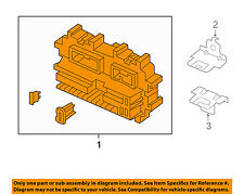 Infiniti NISSAN OEM 06-09 M35 3.5L-V6 Fuse Relay-Junction Block 24350EH10A