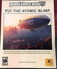 "Grand Theft Auto V 5 DLC Atomic Blimp Code PlayStation 3 PS3  ""FREE SHIPPING"""