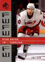 2002-03 Upper Deck SP Authentic Future Watch Ryan Bayda Rookie #212