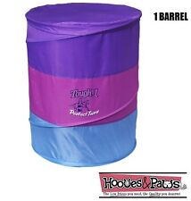 Tough 1 Horse Perfect Turn Collapsible Barrels Racing Purple Pink Single