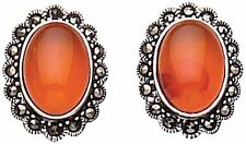 Stud Amber Fine Earrings