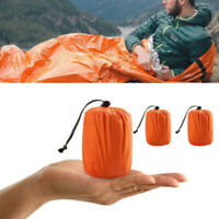 Emergency Sleeping Bag Thermal Waterproof Survival Outdoor Camping Travel Bags