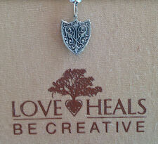Love Heals Be Creative Brave Shield Medium Charm NEW retails $25.00