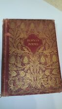 ROBERT BURNS Burns's Poems 1887 Antique Book Poetry GREAT CONDITION RARE Vintage