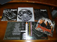Death Angel / Killing Season JAPAN w/Sticker&Card Rare!!!!! C4