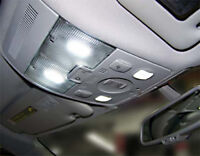 4 ampoules à LED  navette Blanc pour plafonnier avant pour  Audi A3 A4 A6
