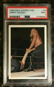 1988 Wonderama NWA Superstars #33 Jimmy Valiant PSA 9 MINT Wrestling Card