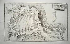 Belle guardia Languedoc-Roussillon Francia France Bodenehr chiave in rame 1720