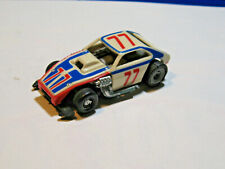 1977 Ideal TCR slot car PINTO SPRINT CAR # 77 RED/ WHITE / BLUE