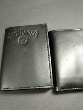Officially Licensed Jack Daniels Leather Trifold Wallet Bar Alcohol Whiskey NEW!