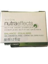 New listing Avon Nutraeffects Active Seed Complex Balance Gel Cream Night, 1.7 Fl Oz Nib