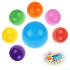 50Pcs Colorful Ball Ocean Balls Soft Plastic Baby Kid Swim Pit Fun Toys Play