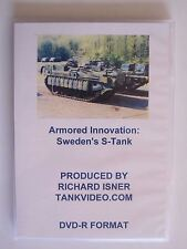 "DVD:  Armored Innovation: The Swedish ""S"" Tank"