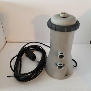 Intex Krystal Clear Filter Pump Model 637R, Tested Runs