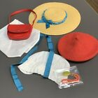 New LOT 6 Hat Bag American Girl dolls Molly's Classic Meet Accessories Felicity