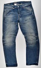 G-star Raw Elwood 5620 3D Jeans rectos W33 L32 vaqueros Vintage azul