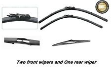 9-3 Estate Mar 2005 to Feb 2015 Windscreen Wiper Blade Set 3 x Blades Front and Rear Blades