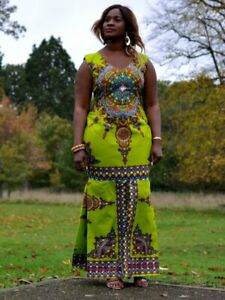 African Print Women Prom,Wedding,Traditional Marriage Dress