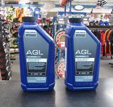 2pcs Polaris AGL Synthetic Gearcase Lube Trans Fluid 32oz 2878068 FREE SHIPP!