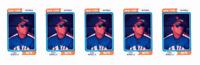 (5) 1992 SCD #75 Bobby Bonilla Baseball Card Lot New York Mets
