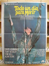 21          TODO UN DIA PARA MORIR - DAVID HEMMINGS - TOM BELL - GUERRA - MEXICA