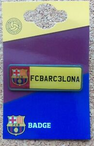 FC Barcelona License Plate Football Badge (Official Merchandise) - FREE POSTAGE!