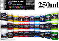 Fabric Paint Fabric Screen Ink Textile Print Ink Permaset Compatible  250ml