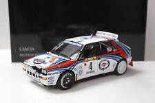 1:18 Kyosho Lancia Delta HF Integrale 1992 Rally Monte Carlo Martini #4