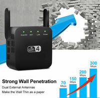 300Mbps 2.4Ghz WiFi Range Extender Repeater Signal Booster Wireless Router