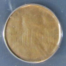 Lincoln Memorial Cent error (struck thru late stage capped die) nice example!