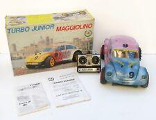 Radiocomando turbo junior maggiolino mantua rc car a scoppio rarità vintage 1/8