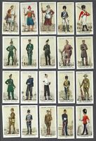1939 John Player Uniforms of the Territorial Army Tobacco Cards Complete Set