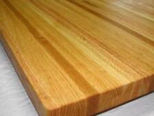 "24"" Solid Oak Edge Grain BUTCHER BLOCK   counter top    table top   18x24x1.25"