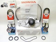 OEM Honda Acura V6 Timing Belt Water Pump Kit With Genuine Hydraulic Tensioner