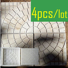 Brick Mold Paving DIY Pavement Walkway Circle Square Garden Path Concrete